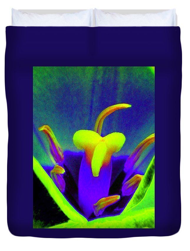 Tulip Duvet Cover featuring the photograph Tulips - Perfect Love - Photopower 2167 by Pamela Critchlow
