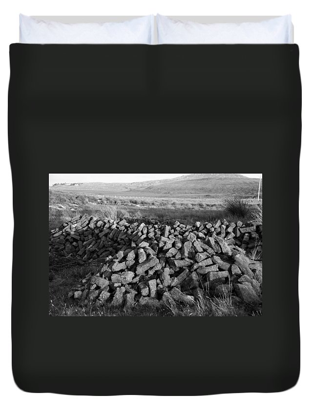 Fire Duvet Cover featuring the photograph Turf by Charlie and Norma Brock