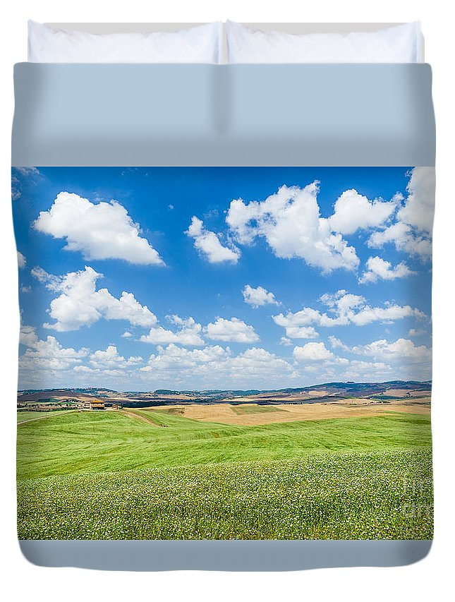 Agriculture Duvet Cover featuring the photograph Tuscan Beauty by JR Photography