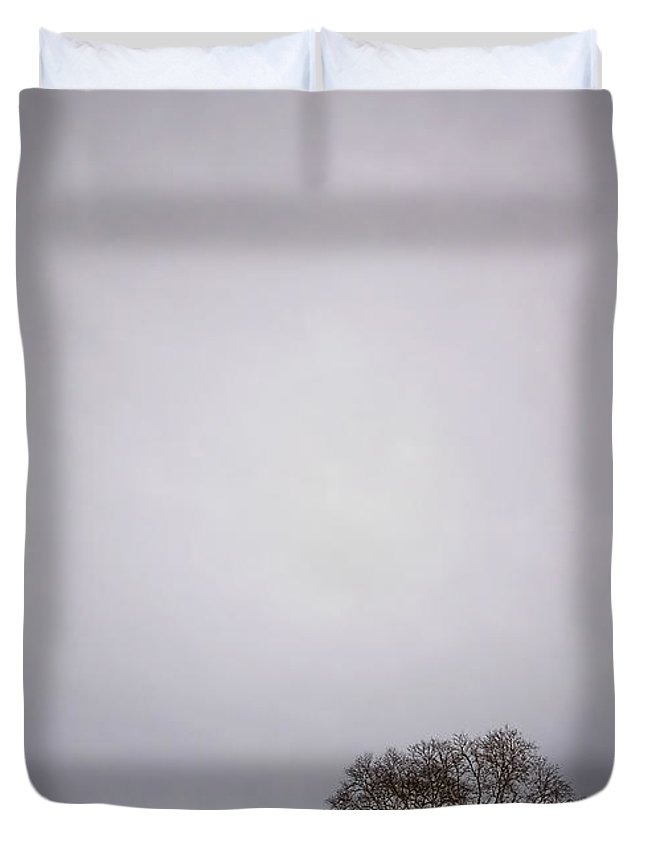 Country Duvet Cover featuring the photograph Two by Evelina Kremsdorf
