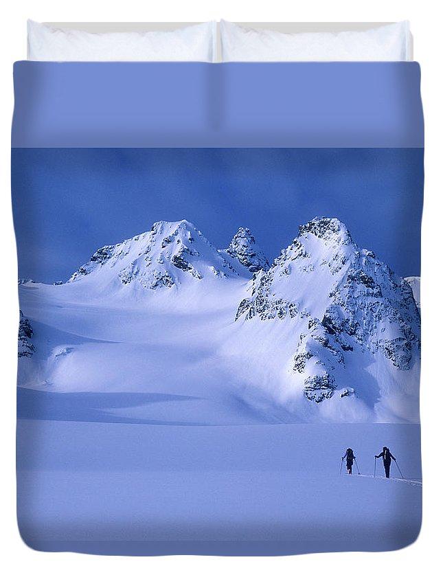Designs Similar to Two Skiers Ski Tour And Explore