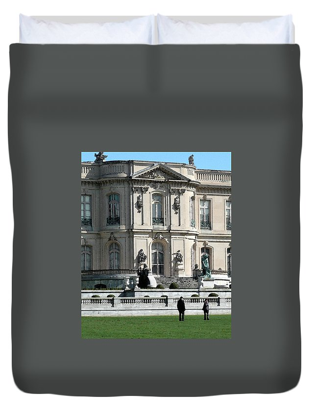 Architecture Duvet Cover featuring the photograph Unnamed by Nicki Bennett