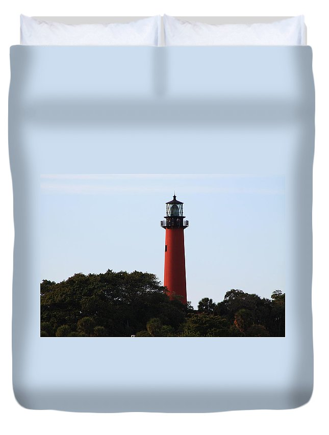 Jupiter Duvet Cover featuring the photograph Up Close by Catie Canetti