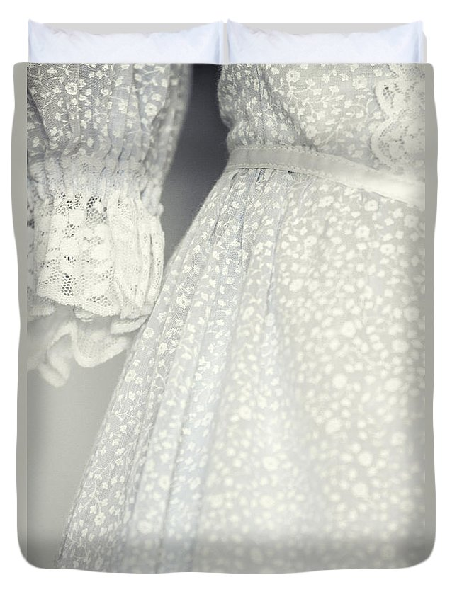 Dress Duvet Cover featuring the photograph Up Close by Margie Hurwich