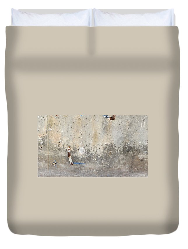 Urban Duvet Cover featuring the photograph Urban Abstract Construction 2 by Anita Burgermeister