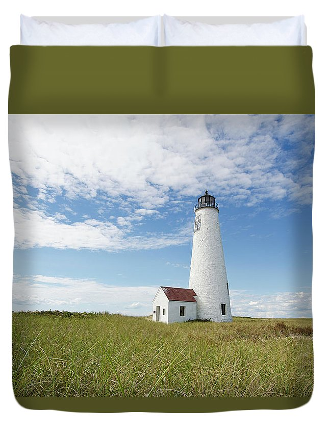Tranquility Duvet Cover featuring the photograph Usa, Massachusetts, Nantucket Island by Tetra Images - Chris Hackett