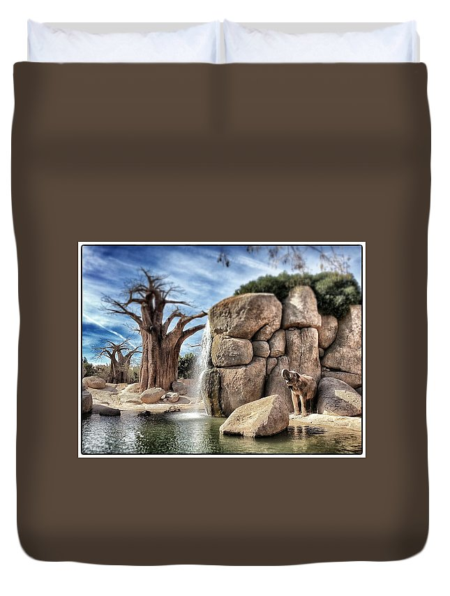 Elephant Duvet Cover featuring the photograph Valencia Elephant by For Ninety One Days