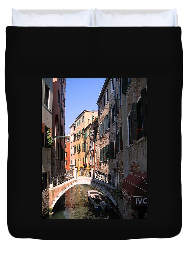 Venice Duvet Cover featuring the photograph Venice by Dany Lison