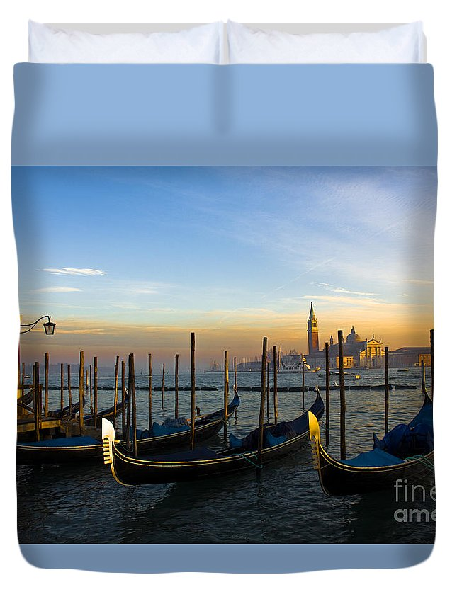 Venice Duvet Cover featuring the photograph Venice by Svetlana Batalina