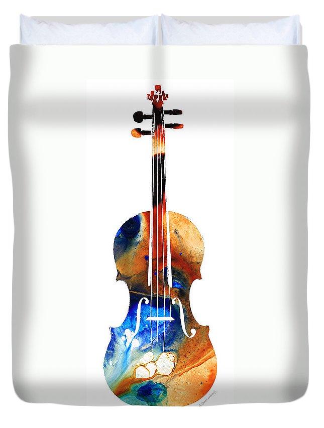 Violin Duvet Covers