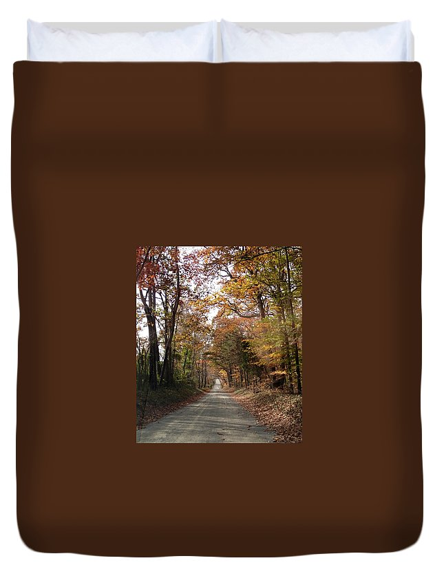 Virginia Duvet Cover featuring the photograph Virginia Countryside by Lois Ivancin Tavaf