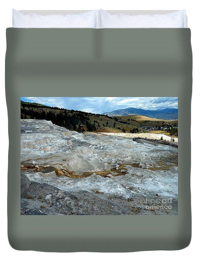 Abstract Duvet Cover featuring the photograph Vista 7 by Lauren Leigh Hunter Fine Art Photography