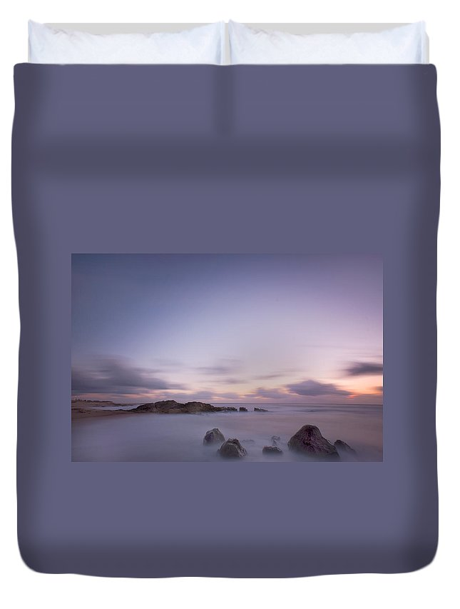 Landscape Duvet Cover featuring the photograph VNg by Bruno Rosa