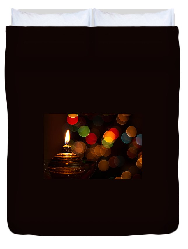 Christmas Duvet Cover featuring the photograph Waiting For Christmas by Andrea Mazzocchetti