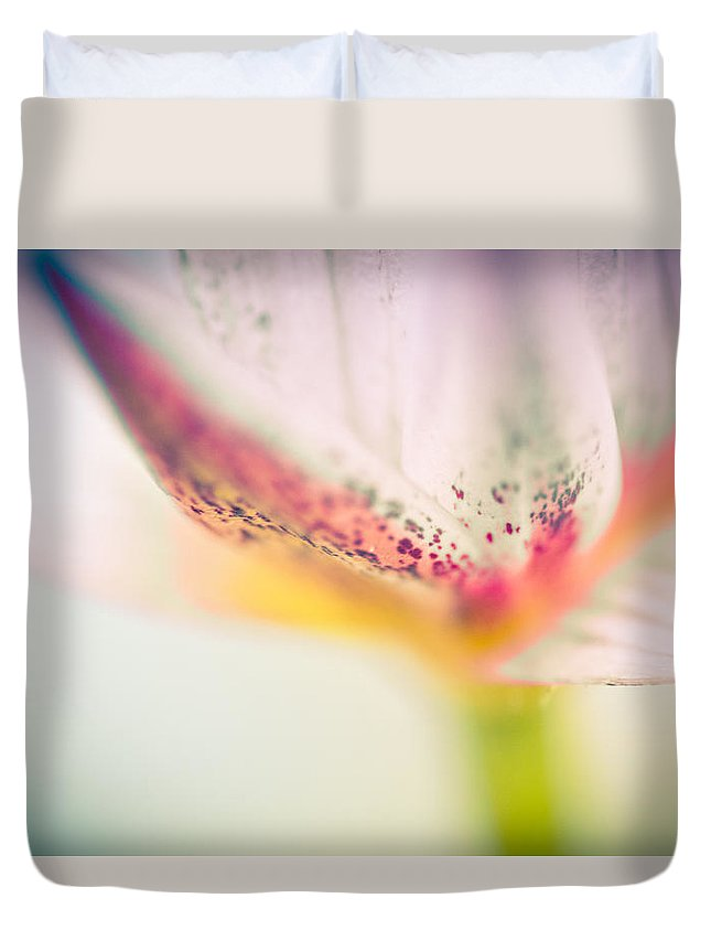 Water Lily Duvet Cover featuring the photograph Waterlily Dreams 14 by Priya Ghose