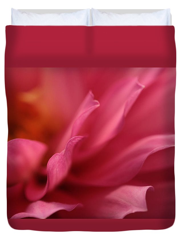 Dahlia Duvet Cover featuring the photograph Wavelets by Connie Handscomb