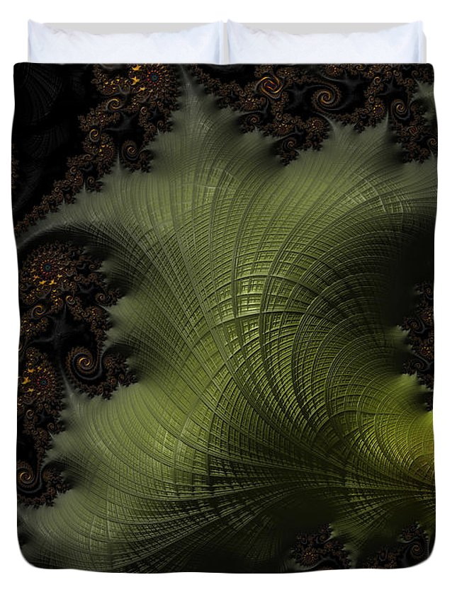 Owlspook Duvet Cover featuring the digital art Waves Of Resonance by Owlspook