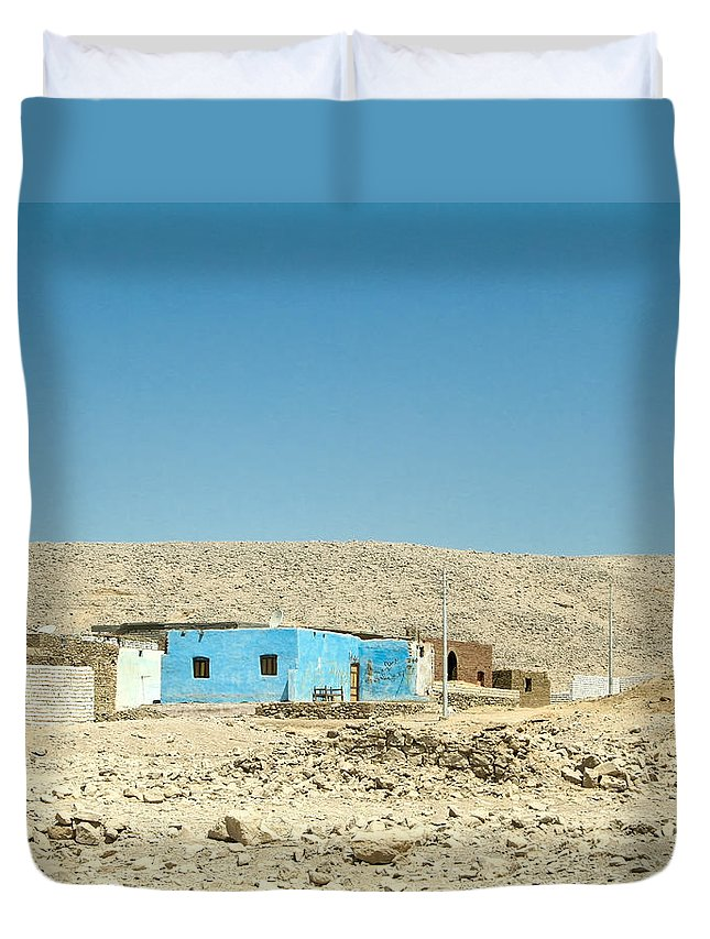 Egypt Duvet Cover featuring the photograph Way Back Home.. by A Rey