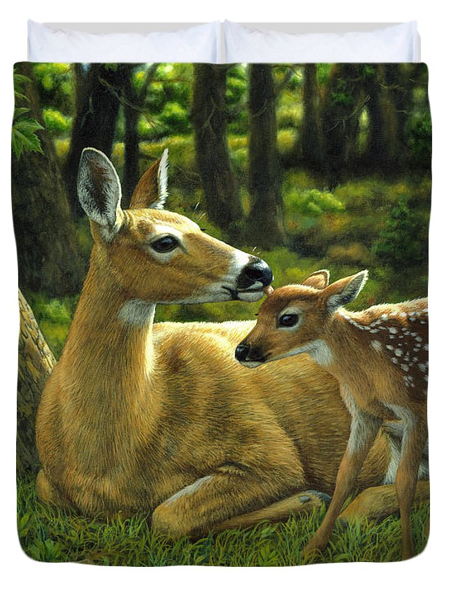 White-tailed Deer Duvet Covers