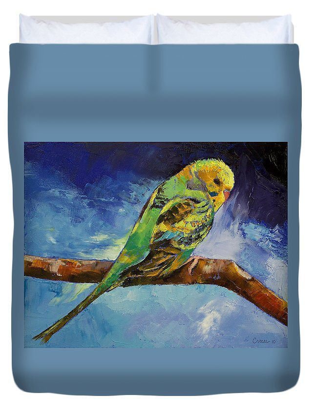Parakeet Duvet Covers