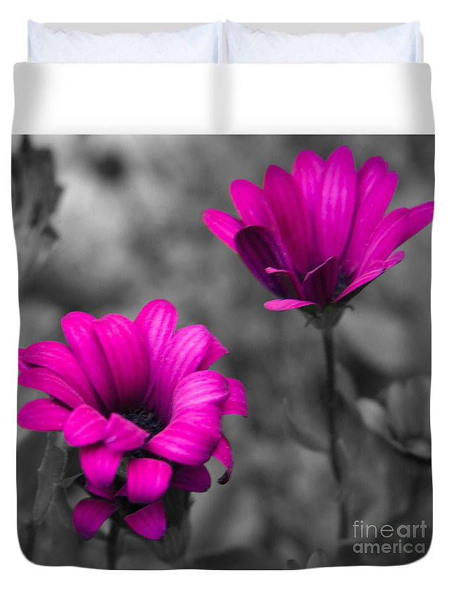 #nature Duvet Cover featuring the photograph Wildflower 2 by Jacquelinemari