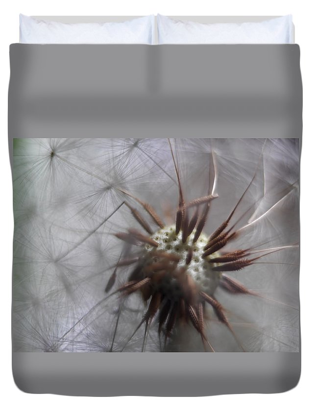 Flowers Duvet Cover featuring the photograph Wildflower Way IIi by Tina Baxter