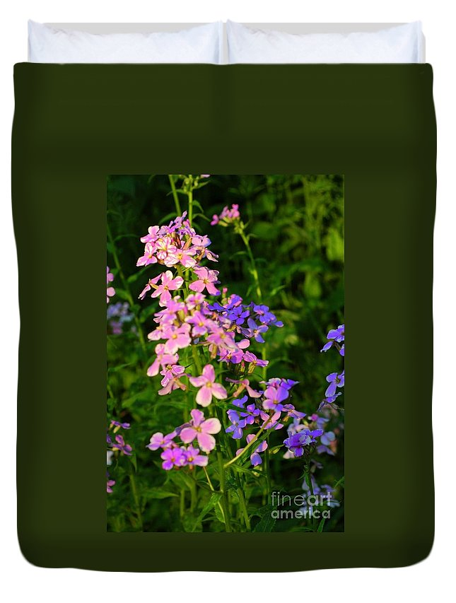 Wildflower Duvet Cover featuring the photograph Wildflower Woods by Kathleen Struckle