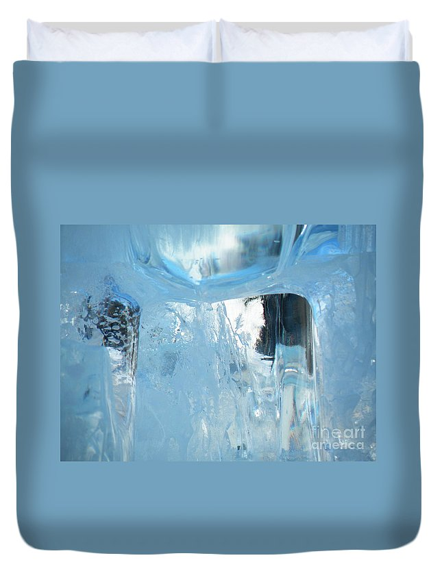 Window Duvet Cover featuring the photograph Windows On Winter by Brian Boyle