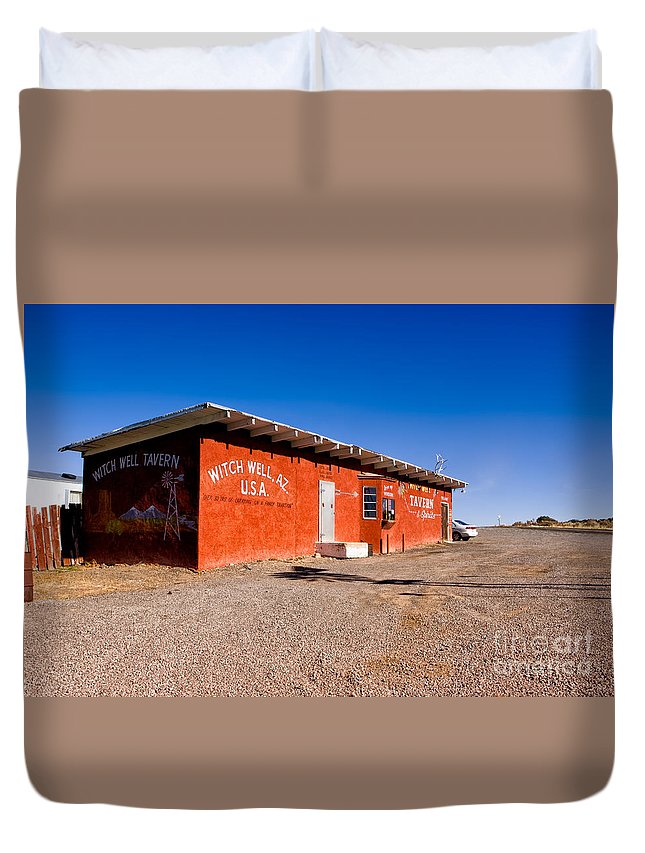 Arizona Duvet Cover featuring the photograph Witch Wells Arizona by Jerry Fornarotto