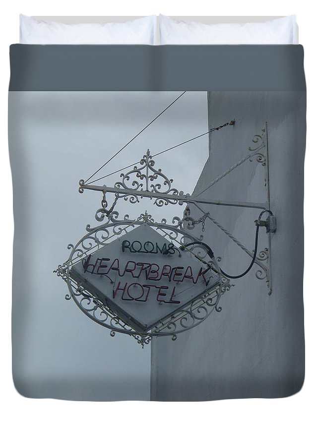 Room Duvet Cover featuring the photograph Xtra Room by Robert Nickologianis