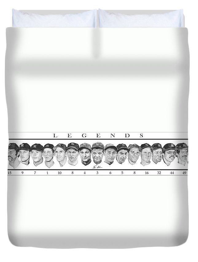 Babe Ruth Duvet Covers