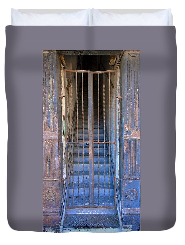 Ybor City Duvet Cover featuring the photograph Ybor City 2013 12 by David Beebe