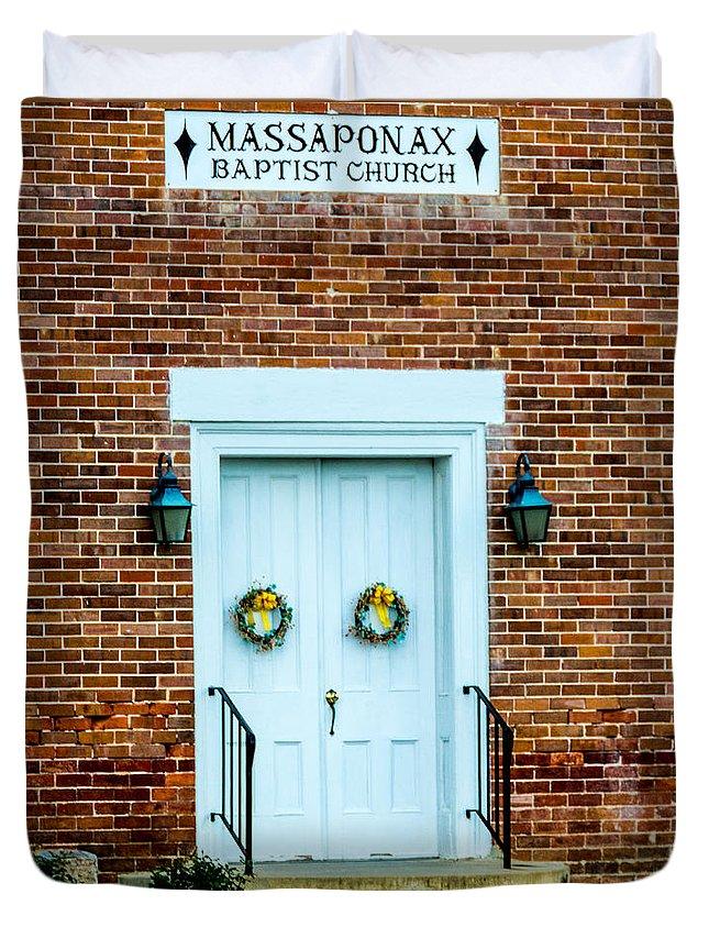 Fredericksburg Baptist Church Duvet Covers