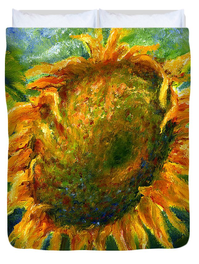 Baggage Covers Yellow Sunflowers Green Leaf Pattern Washable Protective Case