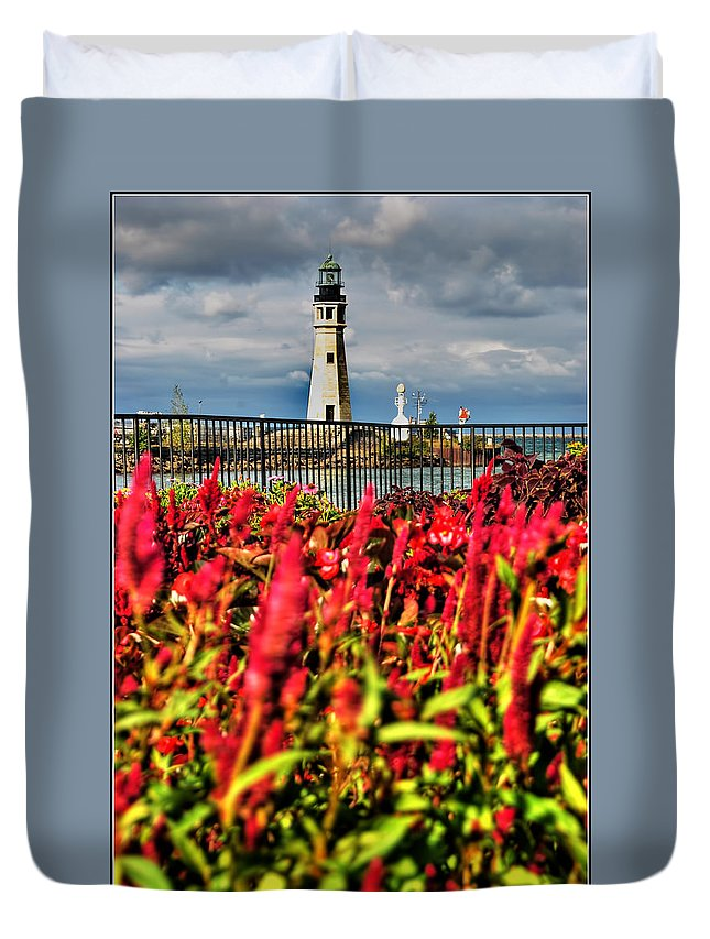Duvet Cover featuring the photograph 004 Summer Sunrise Series by Michael Frank Jr