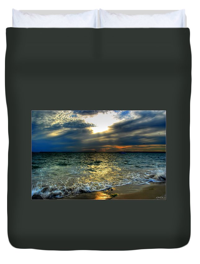 Duvet Cover featuring the photograph 006 In Harmony With Nature Series by Michael Frank Jr