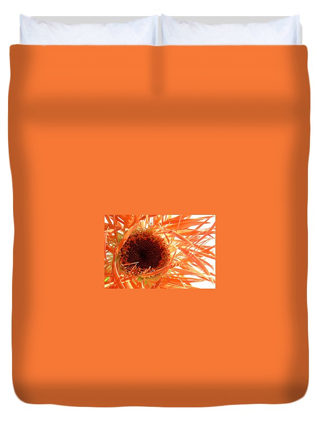 Gerbera Photographs Duvet Cover featuring the photograph 0692c-008 by Kimberlie Gerner