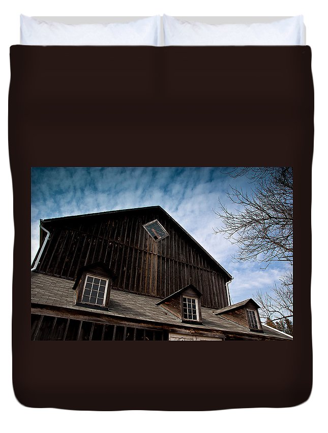 Barn Duvet Cover featuring the photograph Barn by Cale Best