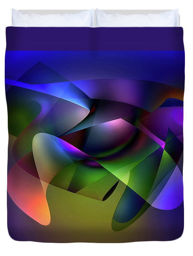 Endre Duvet Cover featuring the photograph Soulscape 12 by Endre Balogh