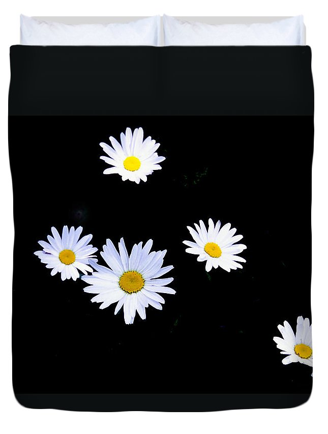 Flowers Duvet Cover featuring the photograph Daisy by Patrick Kessler