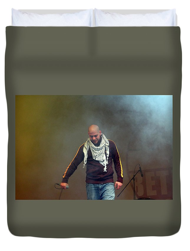 Danny Duvet Cover featuring the photograph Danny Fresh by Munir Alawi