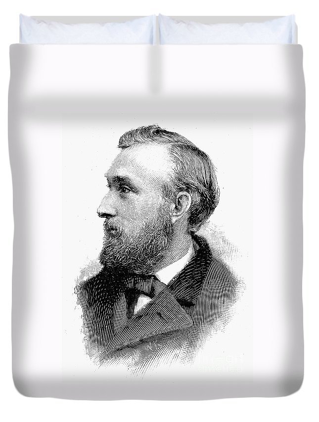 19th Century Duvet Cover featuring the photograph Edward Charles Pickering by Granger
