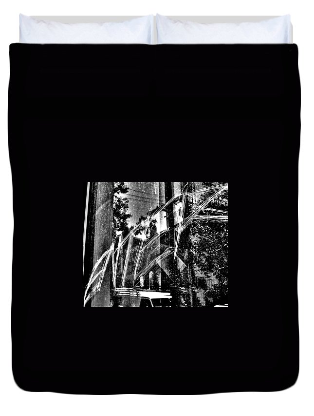Street Photography Photographs Framed Prints Photographs Framed Prints Duvet Cover featuring the photograph Enter by The Artist Project