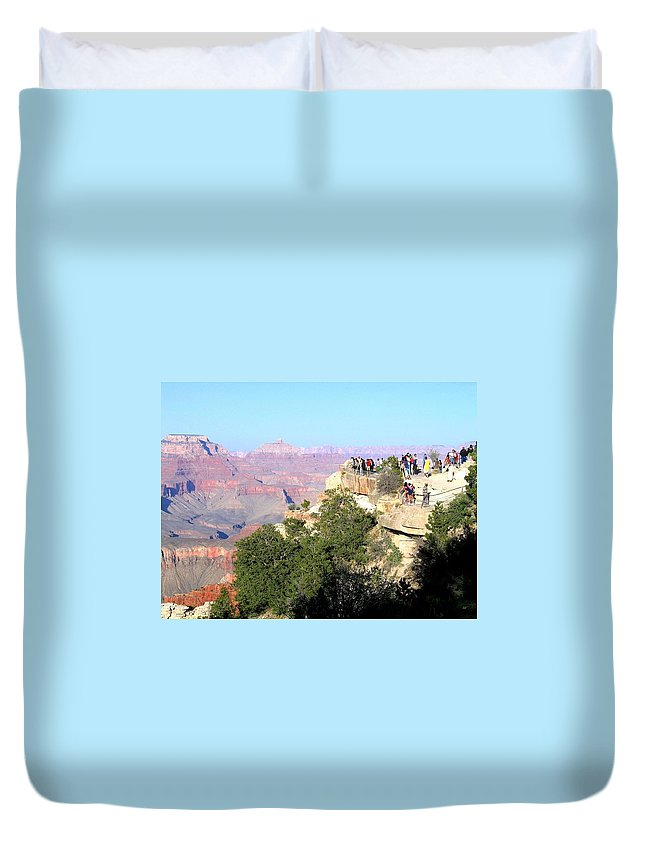 Grand Canyon Duvet Cover featuring the photograph Grand Canyon 16 by Will Borden