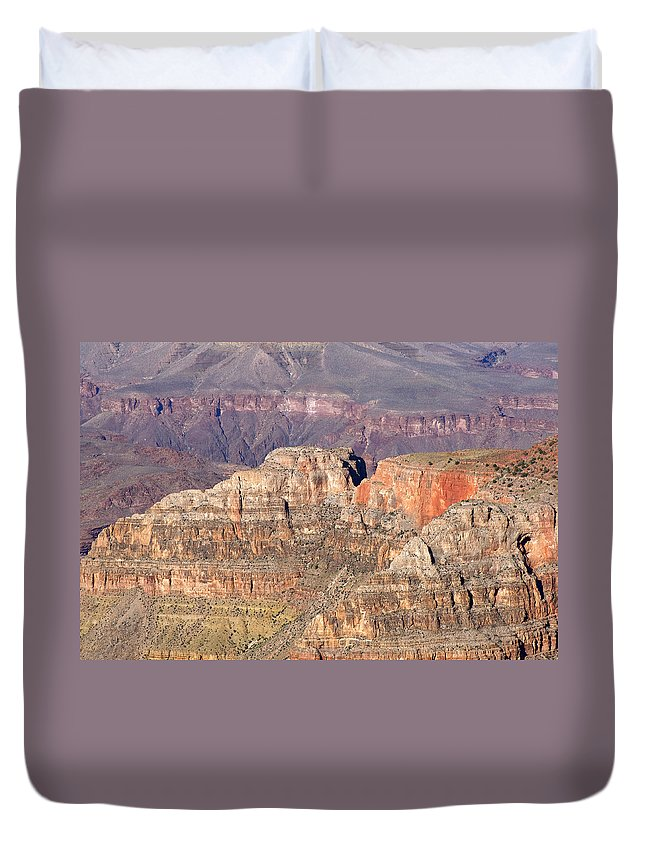 Grand Canyon Duvet Cover featuring the photograph Grand Canyon View by Julie Niemela