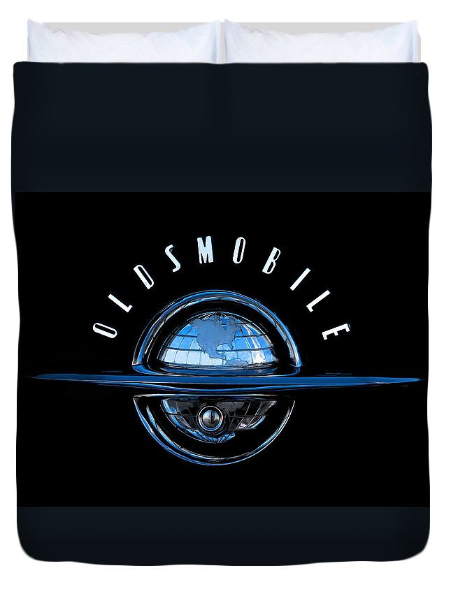 Automotive Duvet Cover featuring the digital art Old World by Douglas Pittman