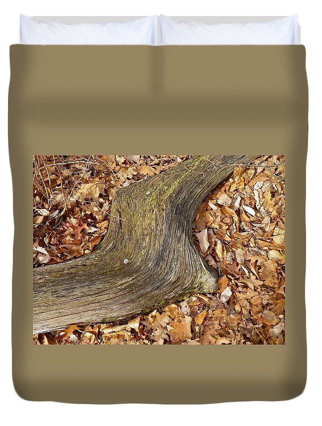 Tree Duvet Cover featuring the painting Resting by Anna Ruzsan