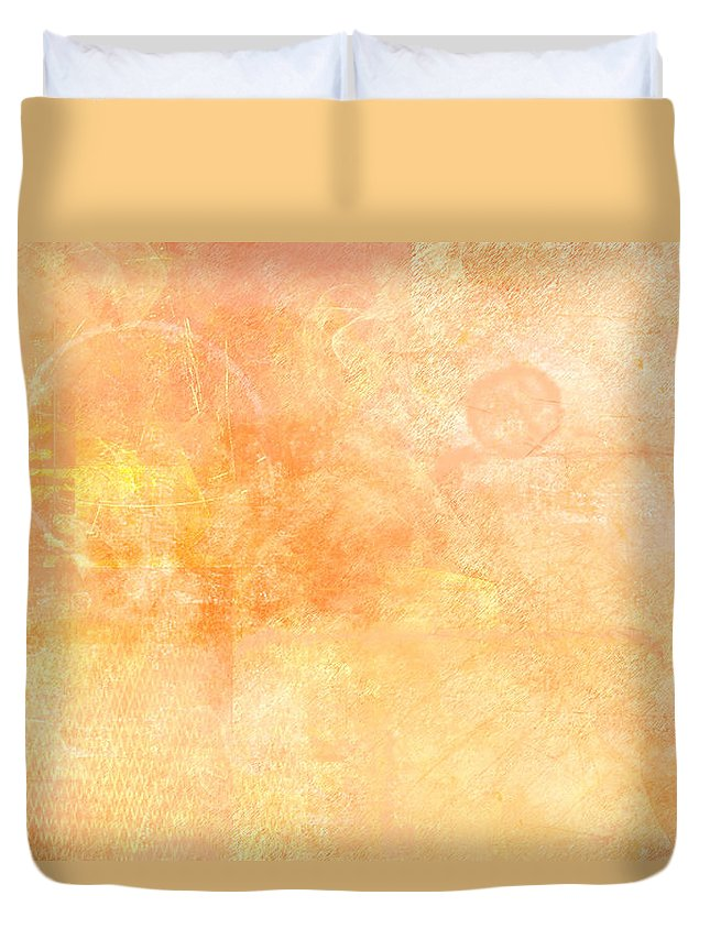 Sand Duvet Cover featuring the painting Sands Of Time by Christopher Gaston