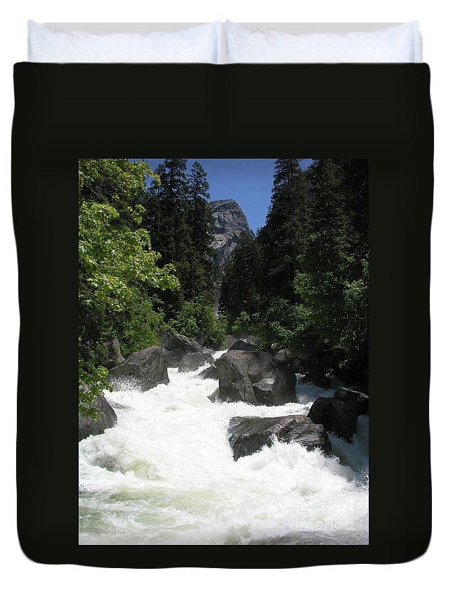 Yosemite National Park Duvet Cover featuring the photograph Yosemite National Park 2011 by Diane Greco-Lesser