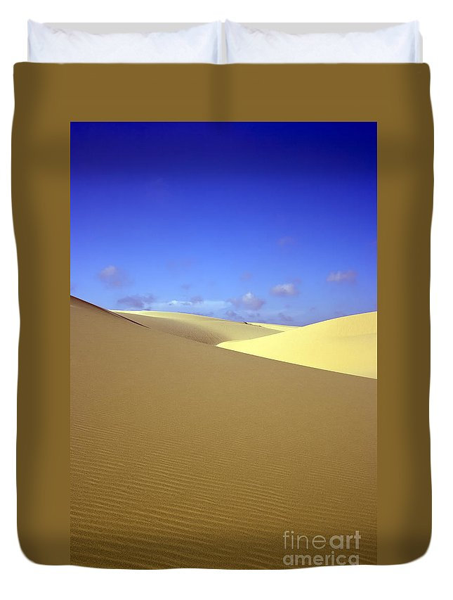 Texture Duvet Cover featuring the photograph Desert by MotHaiBaPhoto Prints